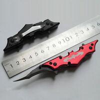 Outdoor Batman Two Dual Bladed Knife The Dark Knight Folding Pocket Knife