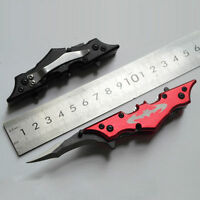 Outdoor Batman Two Dual Bladed Knife The Dark Knight Folding Pocket Knife