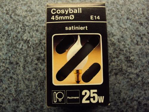 25W Paulmann Cosyball 45mm Ø satiniert E14