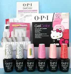 Opi Gelcolor Gc984 Hello Kitty Kit 1 6 Gel Colors H80