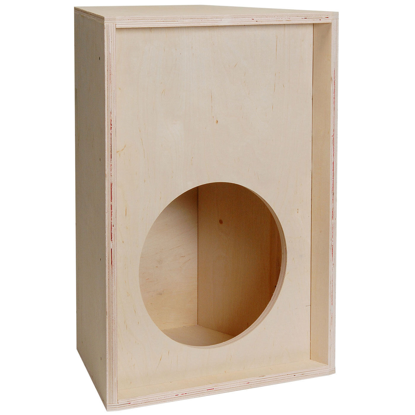 PA Knock-Down Trapezoid Plywood Speaker Cabinet for 12  Driv