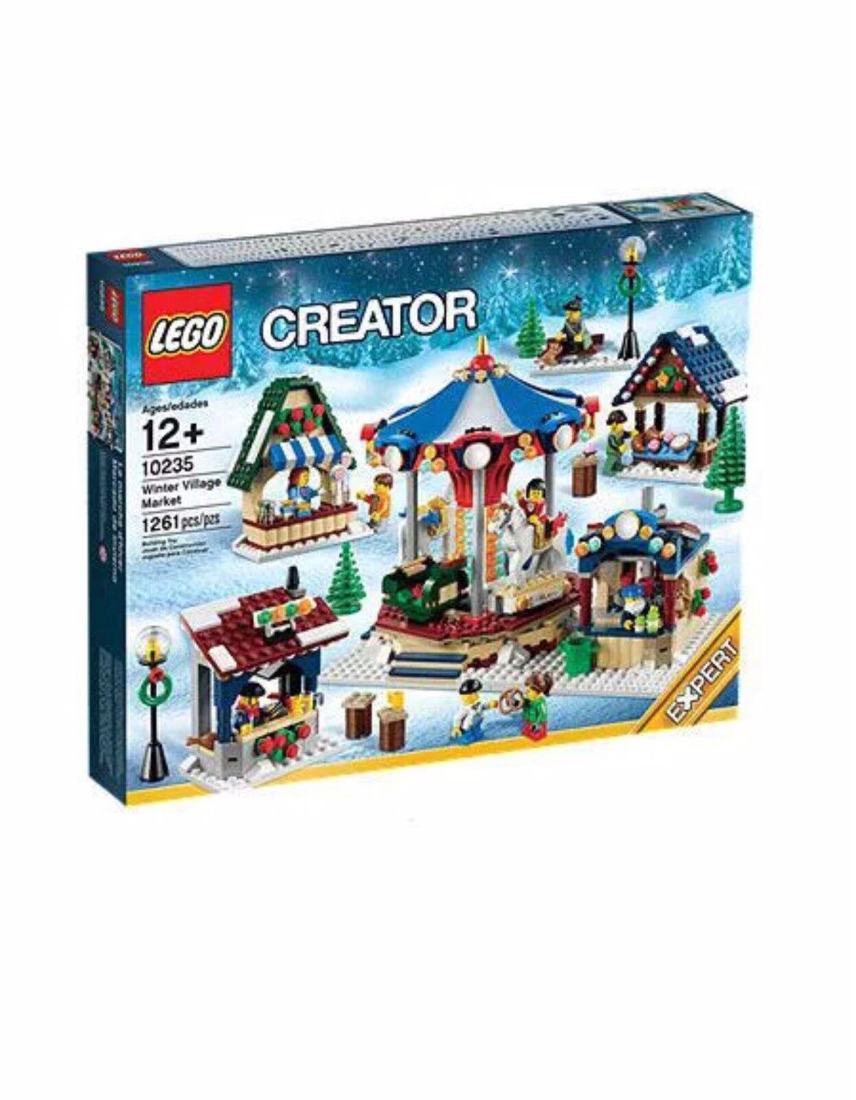 LEGO Creator 10235 Winter Village Market nouveau Sealed Retirouge   haute qualité