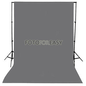 1-5-x3m-Grey-Non-woven-fabric-Photo-Photography-Backdrop-Background-Cloth-5x10ft