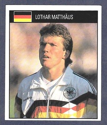 ORBIS 1990 WORLD CUP COLLECTION-#069-WEST GERMANY-LOTHAR MATTHAUS