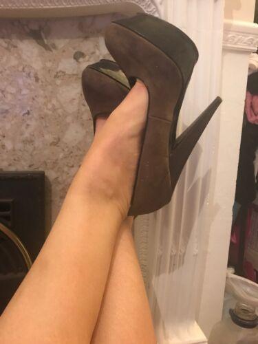 état à hauts Carvela bon taille talons chaussures 6 Brown pxqwfS8U
