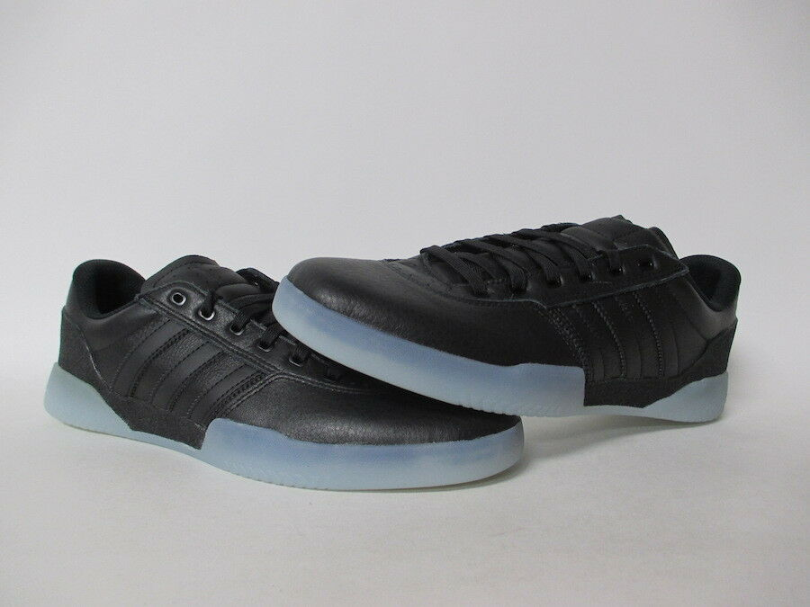 Adidas City Cup Black Leather Ice Sole Sole Sole Sz 11 DB3076 fd6703