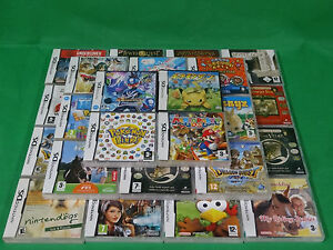 Nintendo-DS-DSi-Games-Game-Cartridge-Boxed-Choose-Yourself