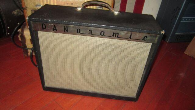 Vintage Circa 1963 Magnatone Panaramic Model 1210 Combo Amp Pitch