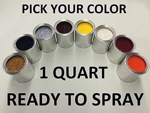 Image Is Loading Pick Your Color 1 Quart Ready To Spray