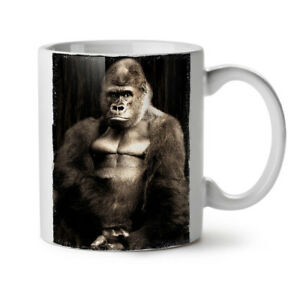 Wild Animal Monkeys NEW White Tea Coffee Mug 11 oz | Wellcoda