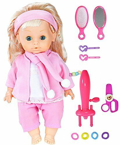 Puppe mit Langen Haaren Zubehör zum zum zum Kämmen Locken 345ea1