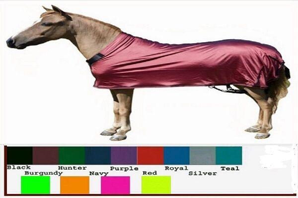 Miniature Horse MINI Sleazy Sleepwear Lycra Spandex Show Body Sheet Solid colors