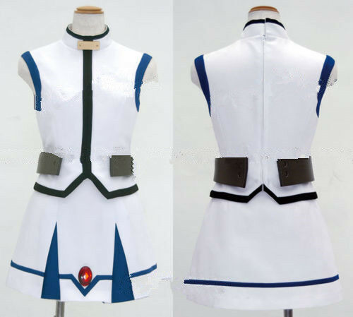 Magical Girl Lyrical Nanoha Cosplay Nanoha Barrier Jacket Costume