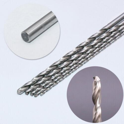5PCS Extra Long High-speed Steel Drill Bit Sets Straight Shank Twist Drill