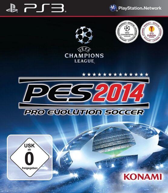 PES 2014 - Pro Evolution Soccer < Playstation 3 > wie neu (17/153