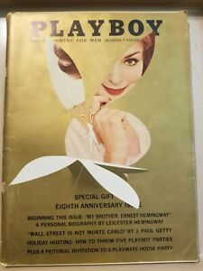 Playboy-December-1961-Good-Condition-Free-Shipping-USA
