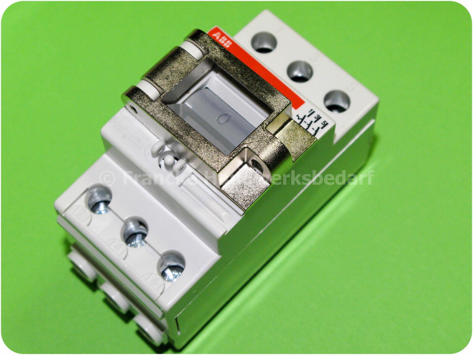 ABB E463 3SL 400V 63A 3-polig Ausschalter Trennschalter  |  Neuer Markt