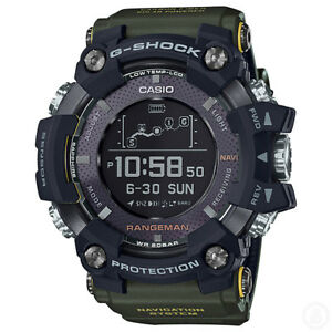 G-SHOCK-RANGEMAN-GPS-Navigatioin-Solar-Bluetooth-Green-Watch-GShock-GPR-B1000-1B