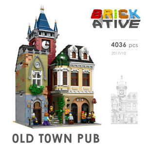 Lego-Custom-Modular-Building-OLD-TOWN-PUB-INSTRUCTIONS-ONLY-instruction
