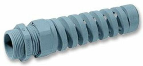 LAPP 53111600 M12 GREY SPIRAL TAIL CABLE GLAND With FREE Locknut Worth £1.99