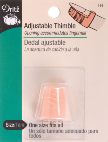 """Adjustable ThimbleOne Size Fits All, Set Of 6"""