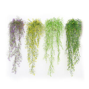 Artificial-Flowers-Foliage-Plants-Wedding-Garland-Vine-Leaf-Hanging-Home-Decor