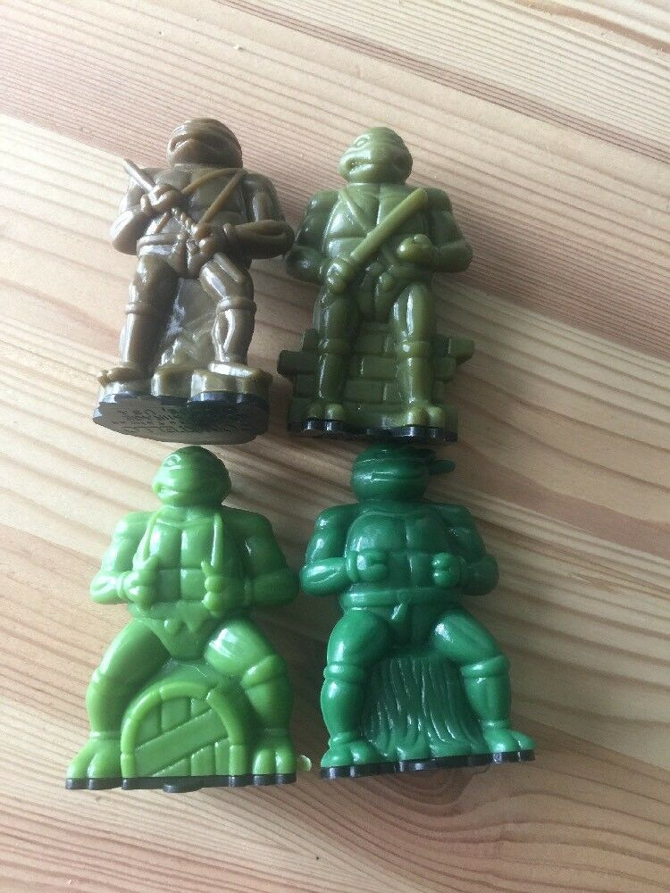 Vintage Teenage Mutant Hero Turtles Candy Containers HTF 90's