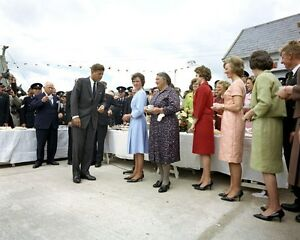 President-John-F-Kennedy-visits-Dunganstown-Ireland-homestead-JFK-Photo-Print