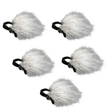 Movo Ws10 Universal Furry DeadCat Outdoor Windscreen for Lavalier Microphone 5pk