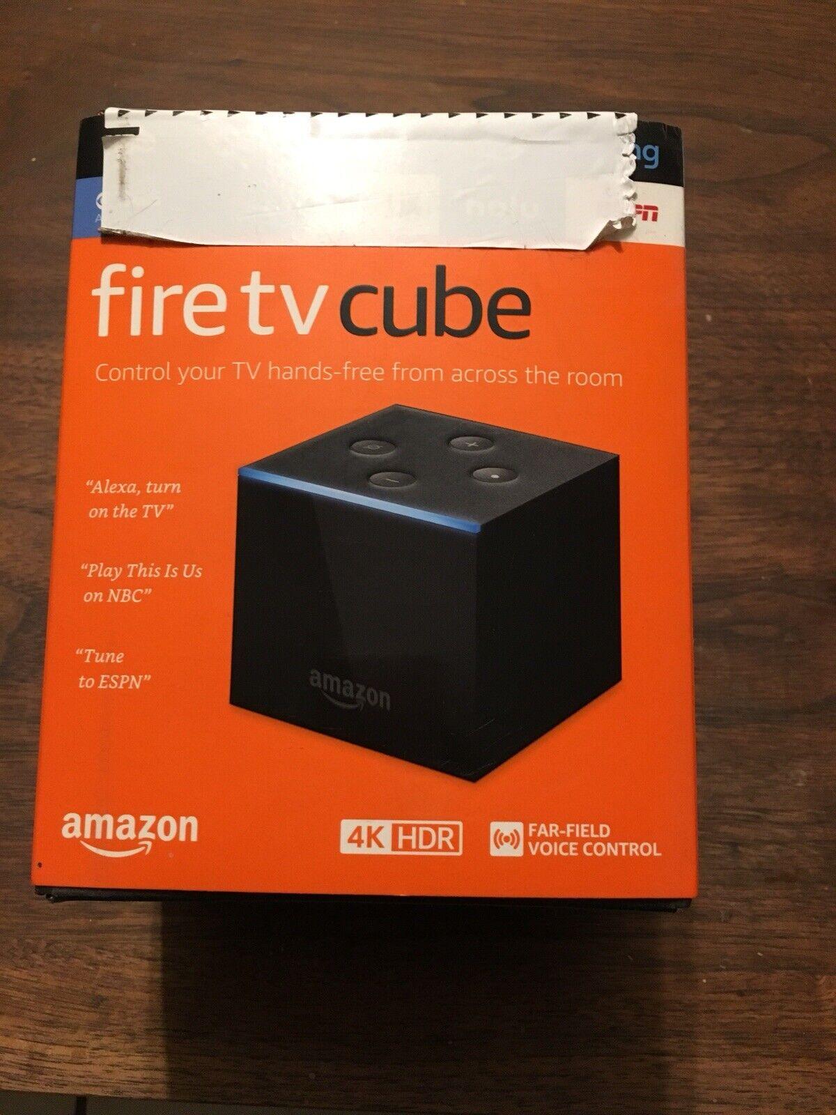Fire TV Cube Alexa, Remote 4K Ultra HD Streaming Media Player Brand NEW brand cube fire media new player remote streaming ultra