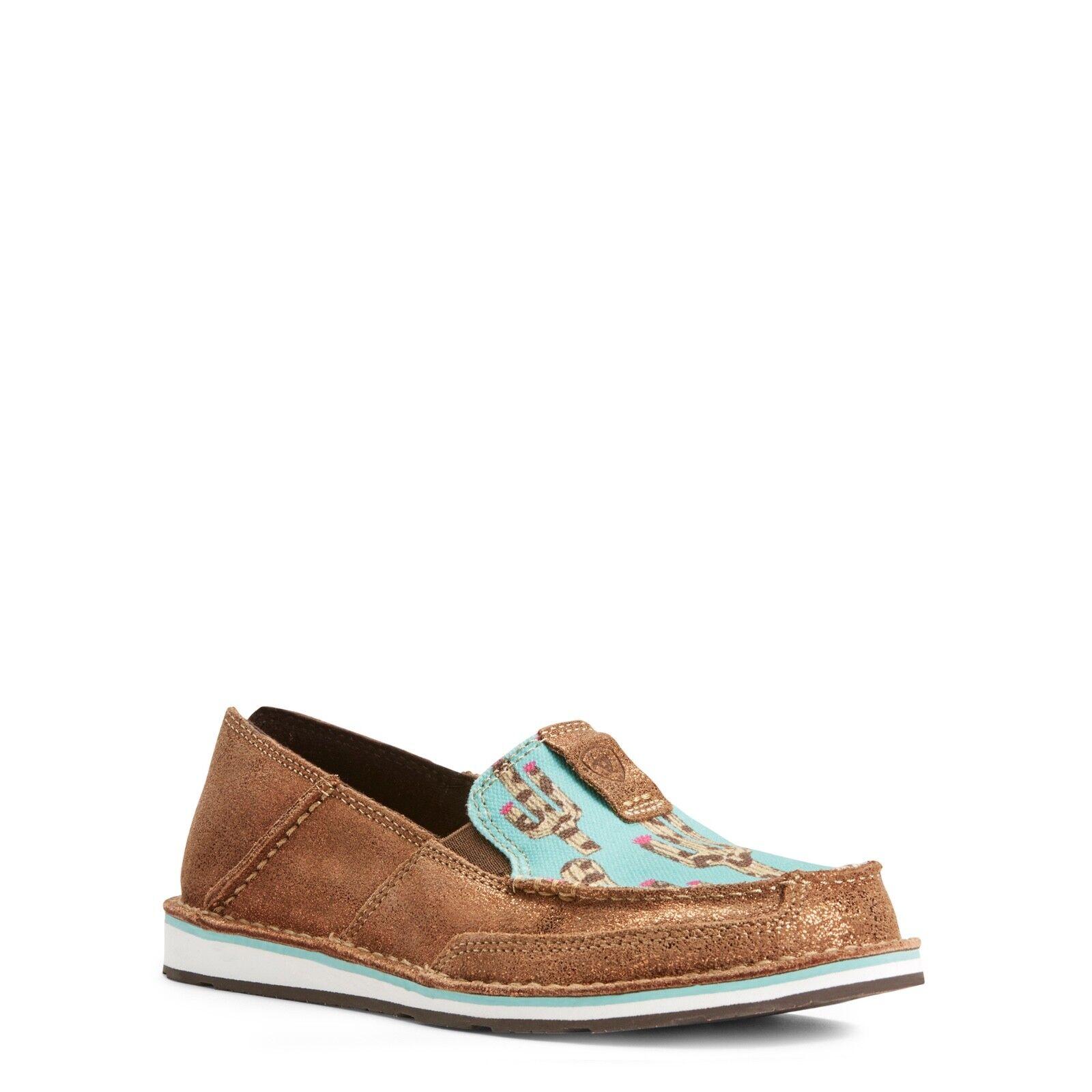 Ariat® Ladies Cruiser Metallic Metallic Metallic Bronze Leopard Cactus shoes 10027352 cdd3cf