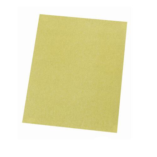 Lot de 10 23 cm x 28 cm Papier De Verre Draps-Grain 60-Oxyde d/'aluminium main Papier