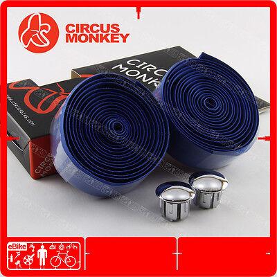 Circus Monkey ROAD Handlebar Bar Tape Wrap Bar Blue