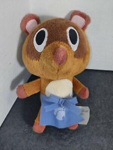 "RARE Timmy Tommy Apron Store Nintendo Animal Crossing Plush Tom Nook 6"" Plush"