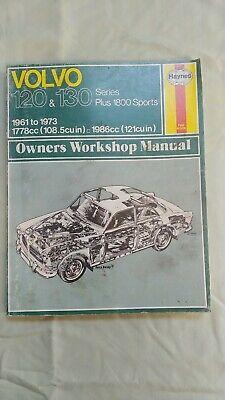 1961-1973 Volvo 120 /& 130 Series 1800 Sports Haynes Service Repair Manual 2031
