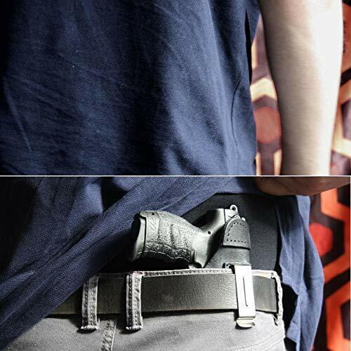 IWB 13 Leder Revolver Holster für ME 38 verdeckte Trageweise schwarz VlaMiTex