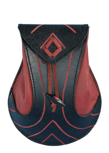 Epic Armoury elfos-bolsa de piel bolso riñonera Bolsa de cadera 20x16x6cm