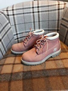 de impermeables rosa mujer 3 Botas para cuero talla color de Timberland xHwEHtO6Pq
