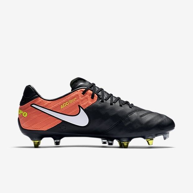 uk availability 099f0 46ae4 Nike Tiempo Legend VI SG Pro AC Cleats Sz 8.5 100 Auth ACC 869483 018 Anti  Clog for sale online   eBay