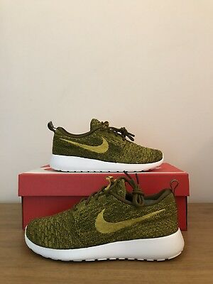 buy online 0a6f8 c095c Uk4 Wmns 704927 Mercato Oro Buon 5 Nuovo Nike 5 One us6 Scatola eu37 306  Piombo ...