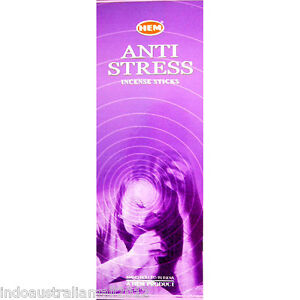 Hem-ANTI-STRESS-Incense-Sticks-6-HEX-BOXES-PACKETS-OF-20g-Sticks-120-Sticks