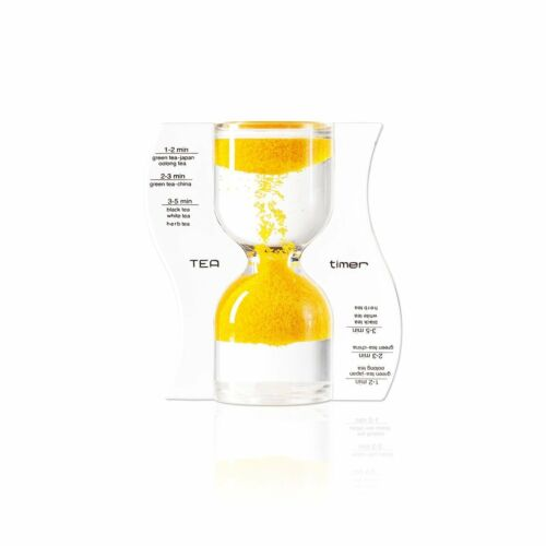 Paradox 5 Minute Tea Timer Sand Flows from Bottom to Top Hourglass