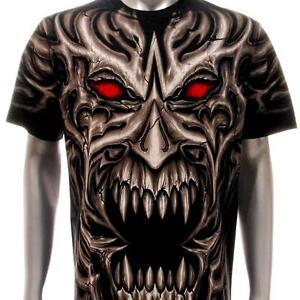 r181 Sz M L XL XXL XXXL Rock Eagle T-shirt SPECIAL Tattoo Skull Rose Gun Casual