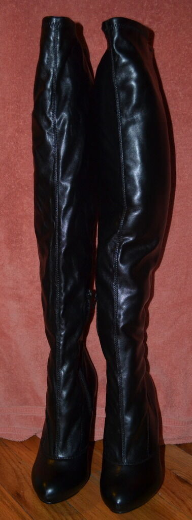 JS by Jessica Fembot Over the Knee Boot WORN ONLY ONCE IN MINT CONDITION PICS