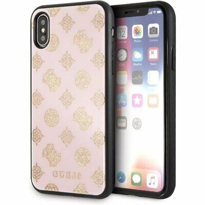 Genuine GUESS Glittery Impact Case Drop Cover for iPhone X & XS 3700740448052 | eBay