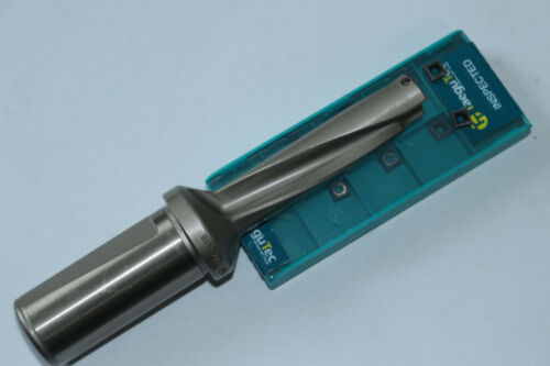 1P C25-5D17.5-91 SP06 U drill 17.5mm-5D with 2PCS SPMG060204 indexable drill