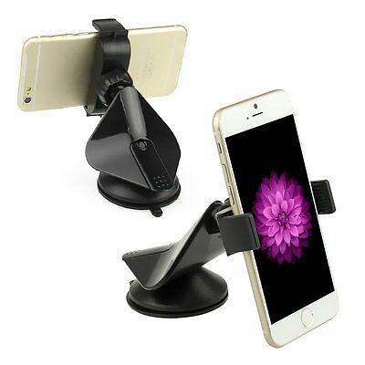 Suction Cup 360 Rotating Car Windshield Mount Holder Stand for Smart Cell Phone