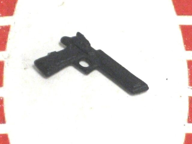 GI Joe Weapon BLACK FIGURE STAND 1988 Original Figure Accessory