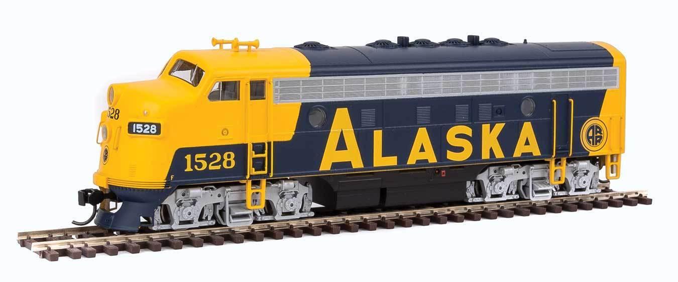EMD F7 A-ESU Sonido y DCC Alaska Railroad 1528