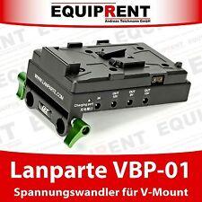 Lanparte vbp-01 V-MOUNT Battery pinch/convertitore di tensione per 15mm RODS Rig eq481